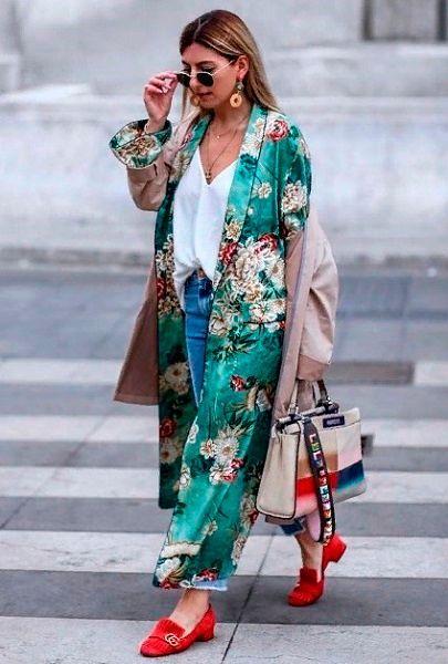 Фото №2: Мода 2019 кимоно.