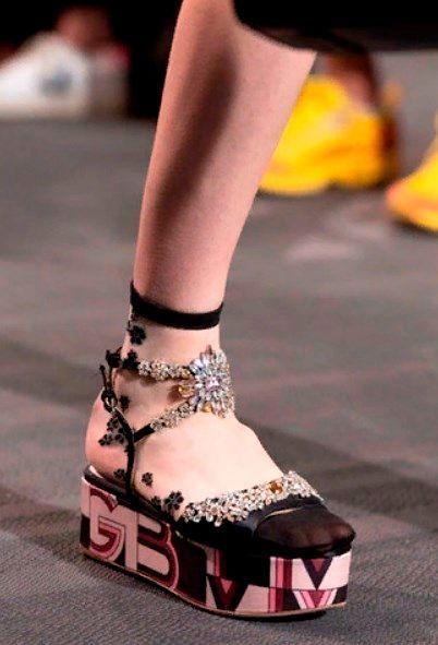 Фото №8: Тренды женской обувь 2020.
