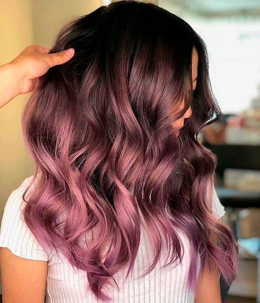 Фото №3: Модный цвет волос 2020 для брюнеток.