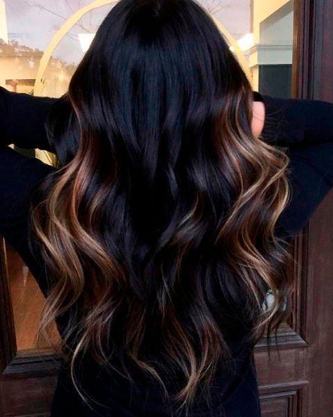 Фото №7: Окрашивание для темных волос тренды.