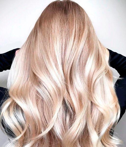 Фото №15: Колорирование светлых волос тренды.