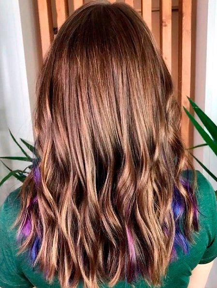 Фото №24: Модное окрашивание волос 2020 фото.