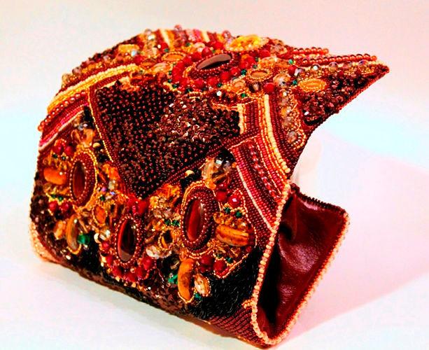Сумка клатч из бисера своими руками