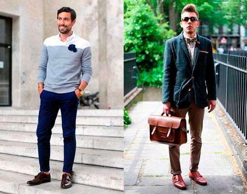 Как носят лоферы с носками или без