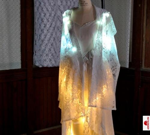 Платье реагирующее на