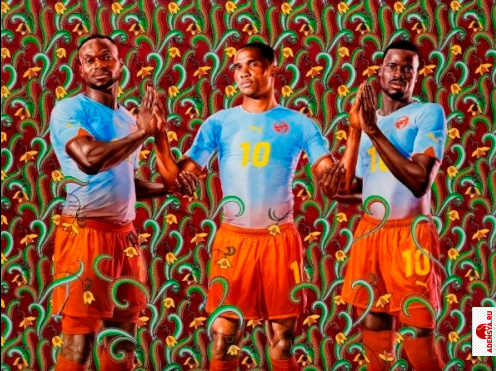 Kehinde Wiley, The art of Footbal