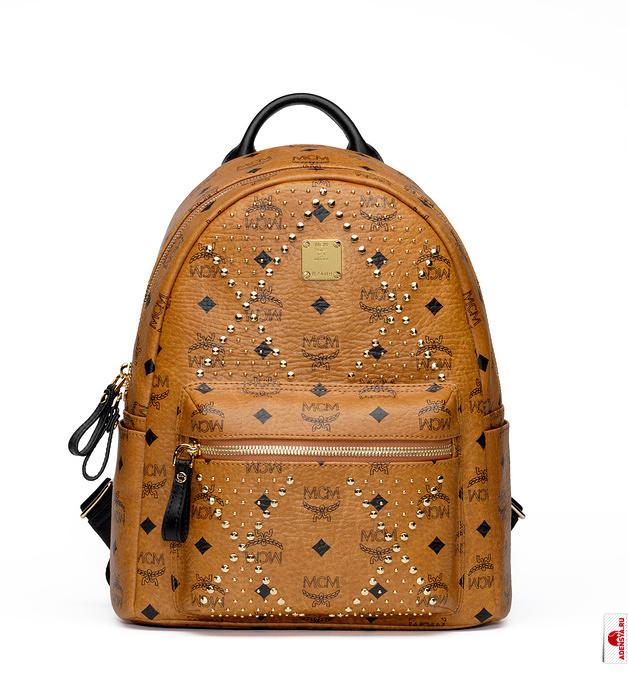 Как украсить кожаный рюкзак