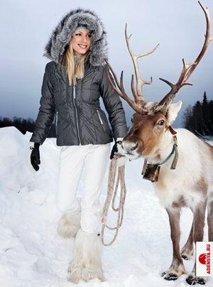 Модная зимняя одежда и обувь для женщин 2014-2013 - Материалы.