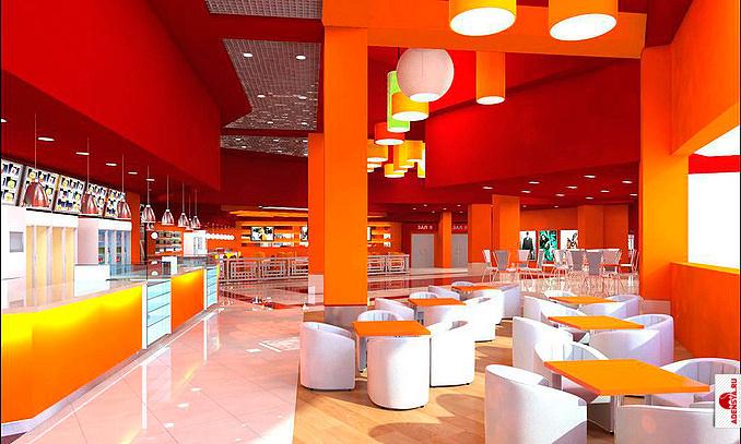 """Кинотеатр  """"Люксор """" - это 9 кинозалов класса  """"Де Люкс """",рассчитанных на 1227 мест.  Они оснащены новейшим оборудованием..."""