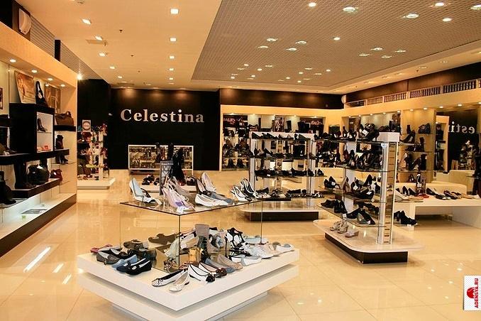 """Магазины  """"Celestina  """" считаются мультибрендовыми и привлекают к себе."""