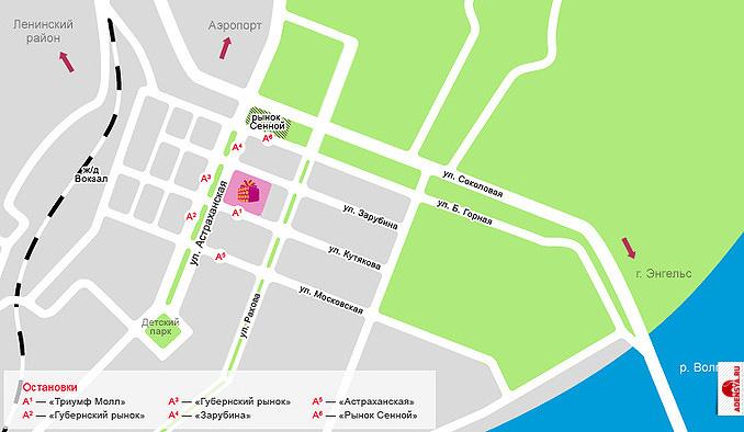 """ТРК  """"Триумф Молл """" - крупнейших из региональных ТЦ Саратова.  Его здание с широкими атриумами, обширными площадями..."""