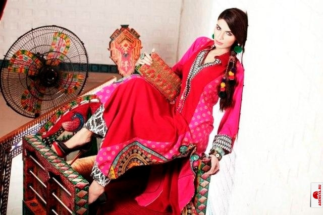 Фото №4: Monsoon Limited Edition By Zahra Ahmad Lovely Eid Dresses 2012
