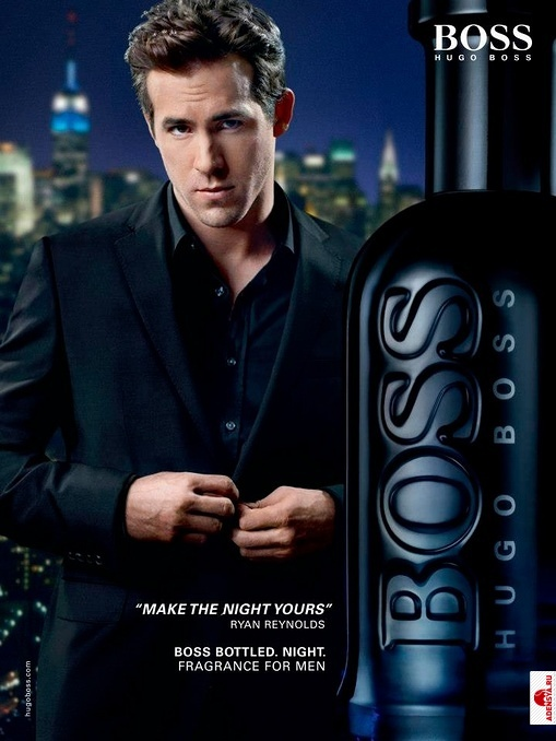 Ryan Reynolds for BOSS BOTTLED