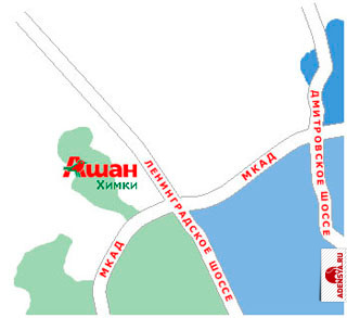 Ашан красносельская схема проезда 255
