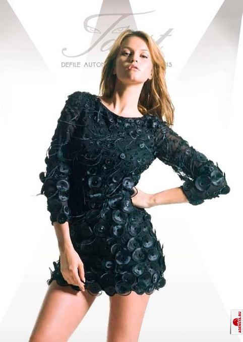 Handmade.  Платья ручной работы.  Вечернее платье с французским.