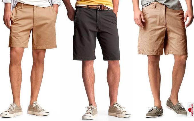 Мужские шорты: заказывайте бермуды на bonprix