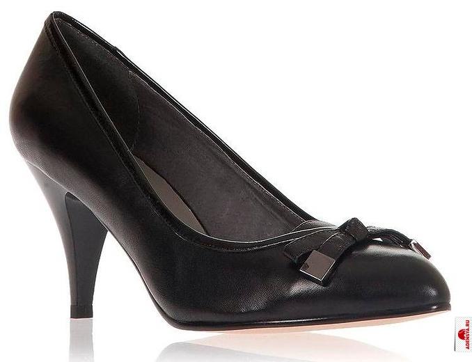 Женские Замшевые Туфли Средний каблук