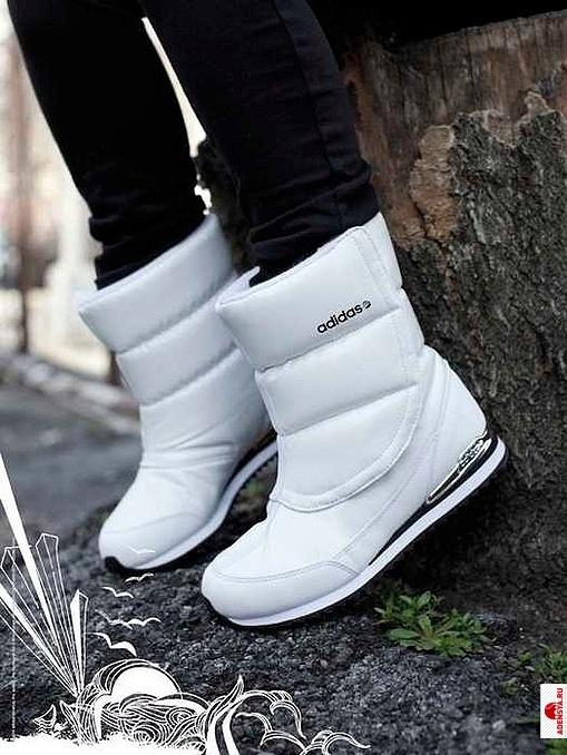 """Обувные тенденции сезона: adidas Neo возродил сапоги- """"дутики """""""